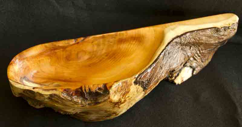 Carved Yew Bowl_1 web