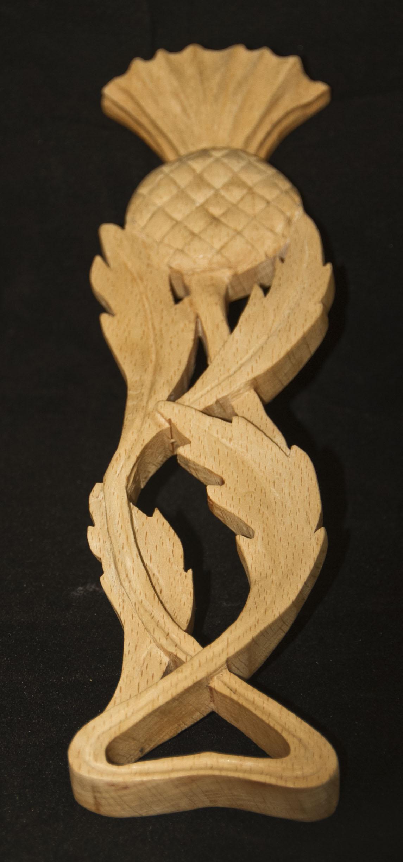 Beech Wood Thistle Design