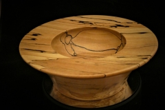 Spalted-Beech Bowl with great figuring